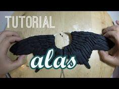 Tutorial Alas (Malefica) de Plastilina - YouTube