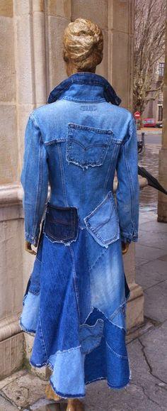 Vestidos Reciclados: CHAQUETAS VAQUERAS