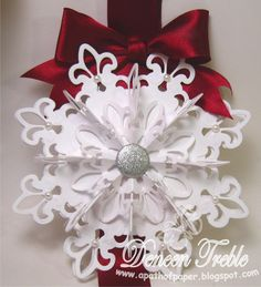 A Path of Paper: Top Tip Tuesday Snowflakes