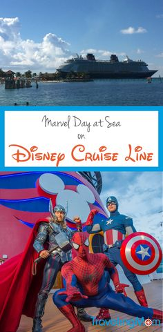 Marvel Day at Sea on Disney Cruise Line. Chart a course for these 2017 and 2018 itineraries on the Disney Magic and see what's in store.