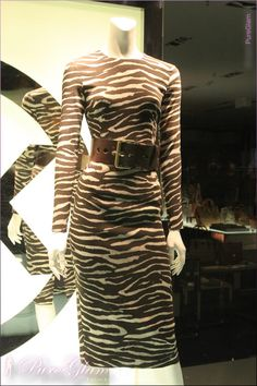 Tiger and animal print – Michael Kors Store Duesseldorf – bags and fashion – close to Koenigsallee