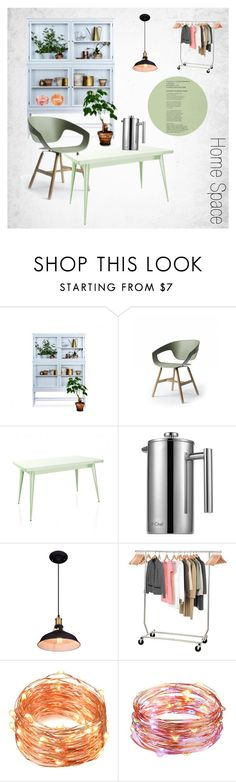 Home Space by ioakleaf on Polyvore featuring interior, interiors, interior design, home, home decor, interior decorating, Beauty, Home, amazon and decoration