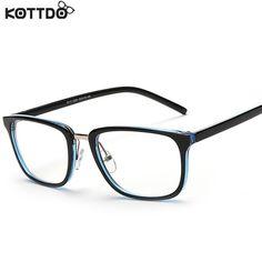 6fb19b4123a75 KOTTDO 2017 Vintage Square Eyeglasses Men Women glasses Optical For Myopia  Retro Eye Glasses Frame oculos