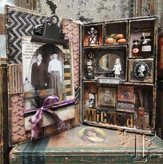 Spooky Halloween Configurations Box by Tim Holtz
