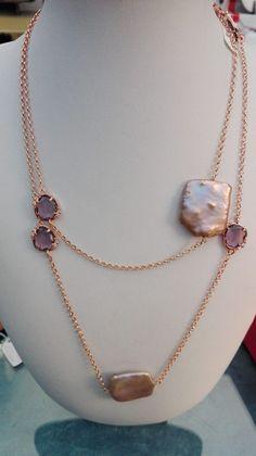 Gioielleria Bagnoli:  Collane perle rosa coltivate e ametista!FAVOLOSE.... Jewelry, Fashion, Moda, Jewlery, Jewerly, Fashion Styles, Schmuck, Jewels, Jewelery