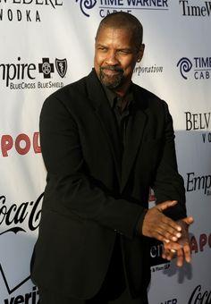 Denzel Washington..mi marido...lol