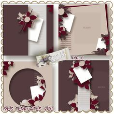 Mes Templates Vol1 by Maguette Designs  http://www.digiscrapbooking.ch/shop/index.php?main_page=product_info=22_145_id=10118