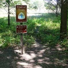 Trail of Tears NHT - Fort Payne, Alabama Walk a out a miles of this what history