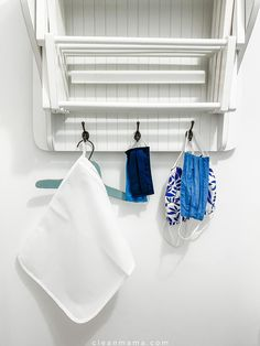 Laundry Room Drying Rack, Clean Mama, Mesh Laundry Bags, Laundry Hacks, Diy Cleaners, Cozy Place, Room Tour, Natural Cleaning Products, Laundry Detergent