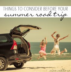 Planning a road trip this summer? Here are some things to consider that you might not have thought about! (spon)