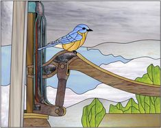 Stained Glass Birds, Stained Glass Projects, Tiffany, Glass Animals, Glass Panels, Mosaic Glass, Mosaic Ideas, Quilts, Halloween