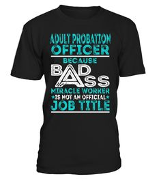 Adult Probation Officer - Badass Miracle Worker
