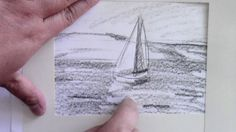 Composition Study for a Painting: Sailboat