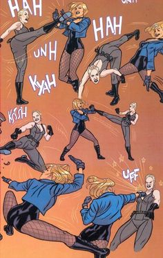 black canary fight - Google Search