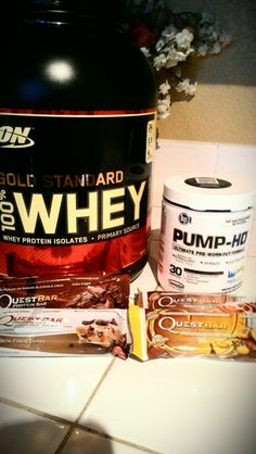 Best protein, pre workout & bars
