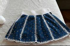 Knitting For Kids, Baby Dress, Crochet Baby, Boho Shorts, Skirts, Diy, Crafts, Dresses, Women