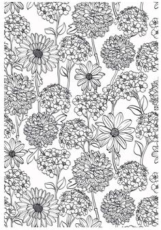Flower Coloring pages colouring adult detailed advanced printable Kleuren voor volwassenen coloriage pour adulte anti-stress kleurplaat voor volwassenen coloriage pour adulte anti-stress