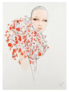 Nuno Da Costa - Contemporary Fashion,Beauty,Line Illustrator