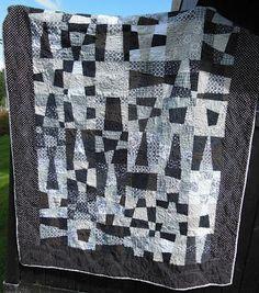 Hege Ts hverdag: Ferdig. Quilting, Fabrics, Blanket, Home, Design, Tejidos, House, Patchwork, Fabric