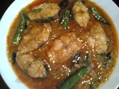 Andhra Chepa Pulusu - Fish Cooked in Tamarind Sauce - Indian Food Recipes | Andhra Recipes | Indian Dishes Recipes | Sailu's Kitchen » All R...