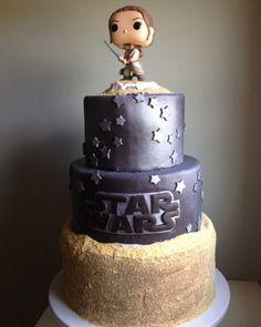Star Wars The Force Awakens Rey Cake