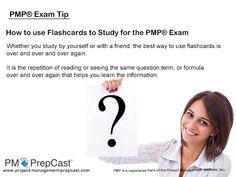 #PMP Exam Tip: How to use Flashcards to Study for the PMP Exam