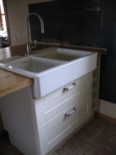 lidingo white domsjo single sink but i want to undermount the sink kitchen dreams one. Black Bedroom Furniture Sets. Home Design Ideas