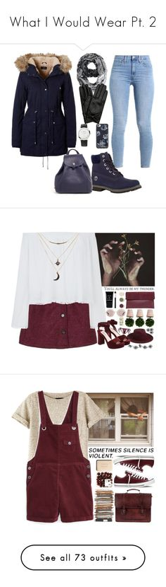 """What I Would Wear Pt. 2"" by bellarina340 ❤ liked on Polyvore featuring Timberland, Longchamp, Links of London, Kate Spade, Hobbs, Whistles, Hanky Panky, Miu Miu, Stila and Bare Escentuals"