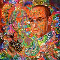 18 DISEÑOS DE ARTE BAÑADOS EN LSD | Cogollando