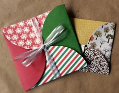 Scrapbook Paper Gift Envelopes  •  Free tutorial with pictures on how to make an envelope in under 15 minutes