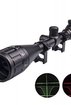 CVLIFE-Tactical-8-32x50-AOE-Zoom-RG-Illuminated-Optical-Sniper-Airsoft-Hunting-Rifle-Scope-with-Free-Mounts-0