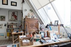 Gisèle d'Ailly van Waterschoot van der Gracht — Publisher & Artist, Apartment, Amsterdam