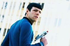 Zachary Quinto as Spock- Star Trek: Into Darkness Star Trek 2009, Recent Movies, New Movies, Star Trek Spock, Star Wars, Cannes, Star Trek Reboot, Plus Tv, Star Trek Into Darkness