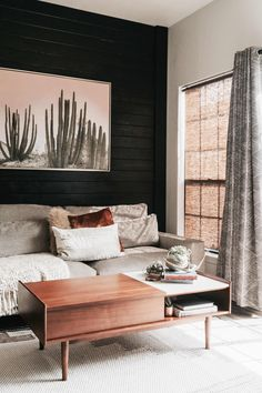 Scandinavian Minimalism Meets Organic Bohemian in Texas: gallery image 4 The home is a condo that Hannah Wilson and her husband have completely remodeled according to their modern Scandi/boho style. Living Room Photos, Living Room Decor, Living Rooms, Apartment Living, Living Area, Interior Decorating, Interior Design, Interior Ideas, Decorating Games