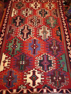 Kilim from Azerbaijan @ 1950s