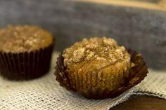 Mini Pumpkin Coffee Cake Muffins