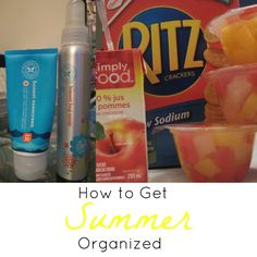 How to Get Summer Organized http://cityofcreativedreams.blogspot.ca/2014/07/how-to-get-summer-organized.html