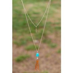 Reddress // Turn The Tassel Necklace - $24.00