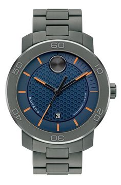 Movado 'Bold' Bracelet Watch, 46mm available at #Nordstrom