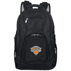New York Knicks Premium Laptop Backpack, Black