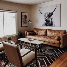 Sven Charme Tan Sofa New chairs for the front living room on account of the two previous ones collapsing due to being pi Design Living Room, Home Living Room, Manly Living Room, Small Living Room Furniture, Brown Leather Sofa Living Room Decor, Tan Sofa Living Room Ideas, Design Bedroom, Cozy Living, Kitchen Living