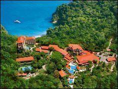 Aerial view of Parador Resort and Spa in Punta Quepos, Costa Rica