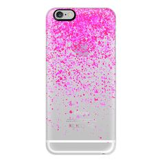iPhone 6 Plus/6/5/5s/5c Case - Pink rain ($40) ❤ liked on Polyvore