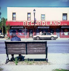 Recordland Ltd, Calgary AB Shop Signage, Skyline Design, Live In The Now, Alberta Canada, Calgary, Service Design, Vinyl Records, Places To See, The Neighbourhood