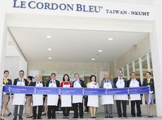 Taiwan June 5, 2015 - Le Cordon Bleu and the National Kaohsiung University of Hospitality and Tourism (NKUHT) officially inaugurated Le Cordon Bleu – NKUHT Culinary Excellence Centre today to implement Le Cordon Bleu's expertise in culinary arts and hospitality training in Taiwan.