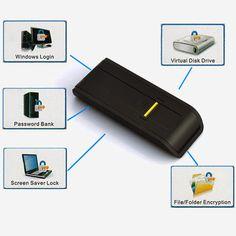 USB Biometric Fingerprint Reader Security Password Lock Fingerprint Sensor Technology for PC Laptop Support English Russian etc Surveillance Equipment, Security Equipment, Security Surveillance, Surveillance System, Biometric Lock, Biometric Security, Cctv Kits, Spy Gear, Spy Gadgets