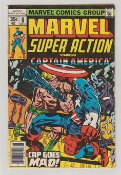 Marvel Super Action Vol 2 8 Bronze Age Comic by RubbersuitStudios