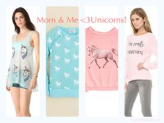 Wildfox Unicorn Shirts Make Great Holiday Gifts for the Horse Lover! So soft, so cuddly, so cute!