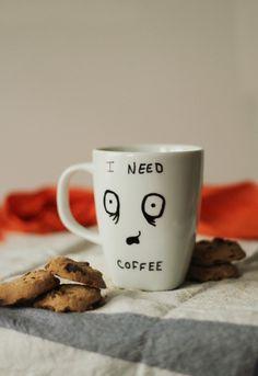 I need Coffee Mug by DevinsEmporium on Etsy, $10.00