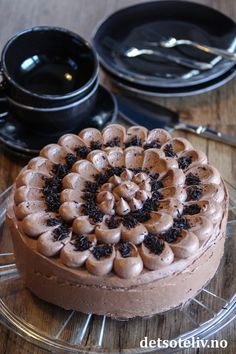 Sjokoladekakefavoritten | Det søte liv Norwegian Recipes, Norwegian Food, Cake Recipes, Cheesecake, Food And Drink, Cakes, Baking, Drinks, Drinking